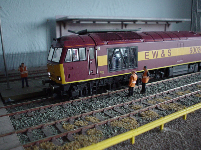 Analogue Head Tail Lights Double Ended Locos Lima Class 60 Diesel